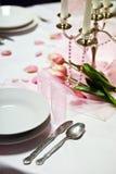 stołowy ślub Fotografia Stock