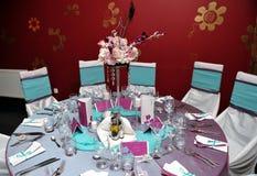 stołowy ślub Obraz Stock