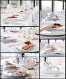 stołowy ślub Obraz Royalty Free
