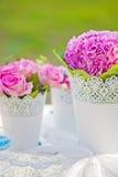 stołowy ślub Fotografia Royalty Free