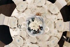 stołowy ślub Obrazy Royalty Free