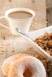 Śniadaniowy stół Obraz Stock