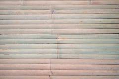 Stołowy bambus lub ściana bambus z tekst przestrzenią Zdjęcie Royalty Free