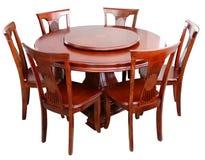 stołowy drewniany Obraz Royalty Free