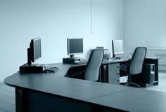 stołowy monitoru miejsce pracy Zdjęcia Royalty Free