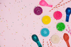 Stołowy partyjny położenie Tradycyjny w połowie jesień festiwal kolorowy mo Zdjęcia Royalty Free