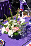 stołowy szczegółu ślub Obrazy Stock
