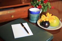 stołowy writing Zdjęcia Stock