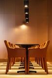Stoły i krzesła Zdjęcie Stock