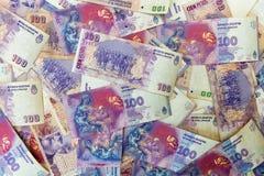 Sto argentinians peso rachunków obrazy royalty free