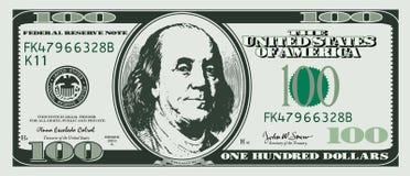 sto dolarów Zdjęcia Stock