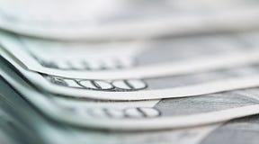 Sto Dolarowych rachunków Obraz Stock