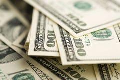 Sto Dolarowych rachunków Zdjęcie Royalty Free