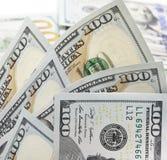 sto dolarów rachunków Zdjęcia Stock