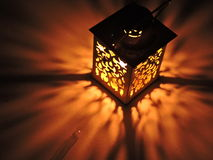 Stołowa lampa Obrazy Stock