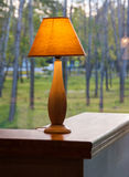 Stołowa lampa Fotografia Stock