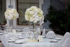 stołowe dekoracje zdjęcie stock
