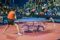Stołowego tenisa rywalizacje Obrazy Royalty Free