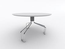 stołowy biel Zdjęcia Royalty Free