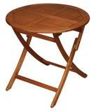 stołowy drewniany Obrazy Royalty Free