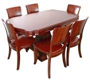 stołowy drewniany Fotografia Stock