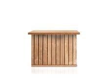 Stołowy drewno Obrazy Royalty Free