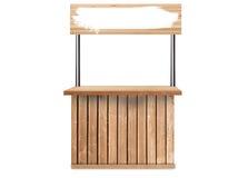 Stołowy drewno Obrazy Stock