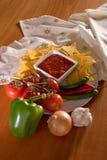 Stołowy salsa zdjęcie royalty free