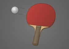 Stołowy tenisowy kant Zdjęcie Royalty Free