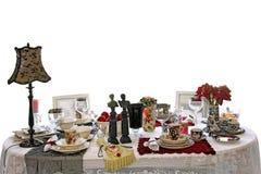 stołowy ustawianie rocznik Fotografia Stock