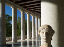 Stoa Atallou Stock Photography