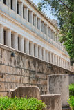 Stoa of Atalos in Ancient Agora of Athens, Greece. The Stoa of Attalos in Ancient Agora of Athens, Greece Stock Photography