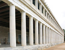 Stoa of Attalos Royalty Free Stock Photography