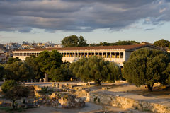 Stoa of Attalos Stock Photography