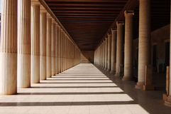 Stoa of Attalos Stock Image