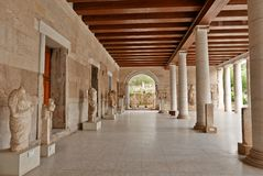 Stoa of Attalos Ancient Agora Athens Stock Image