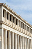 Stoa Attalos, antyczna agora w Ateny Zdjęcia Stock