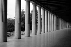 Stoa of Attalos Royalty Free Stock Image