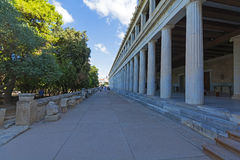 Stoa of Attalos, Athens-Greece Stock Photos
