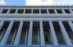Stoa of Attalos, Athens-Greece Stock Photography