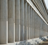 Stoa of Attalos in Athens, Greece Stock Image