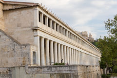 Stoa of Attalos in Athens, Greece Royalty Free Stock Photography