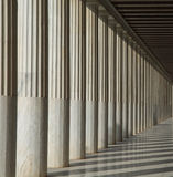 Stoa of Attalos in Athens Royalty Free Stock Photography