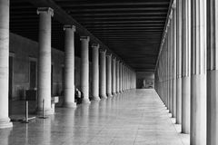 Stoa of Attalos. Royalty Free Stock Photography