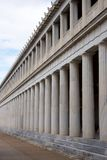 Stoa of Attalos with two marble colonnades Royalty Free Stock Photo