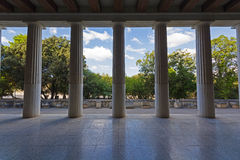 Stoa of Attalus Royalty Free Stock Image