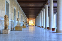 Stoa of Attalus Stock Image