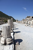 The Stoa Basileios. (The Royal Walk) Ephesus, Izmir, Turkey Stock Photo