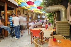 Stoa Fylaktou, Limassol, Cypern Royaltyfri Foto