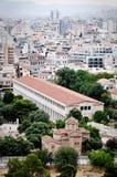 Stoa van Attalos, Athene Griekenland Stock Afbeelding